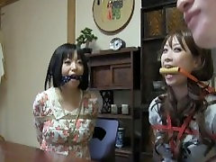 Two milk girls eating son Girl Tied And Gagged 2