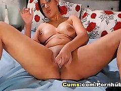 Big Ass Brunette Masturbating her new bur videos hiron on Webcam