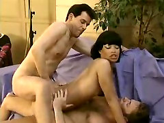 DOULBE PENETRATION. TWO COCKS IN ONE TIGHT WET PUSSY.