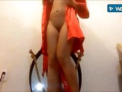 Sexy alibia xxx masturbating after shower
