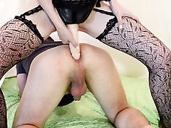 Hot Wife Fucking Guy with Strapon PEGGING FEMDOM
