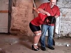 Milf tied up and nipple tortured