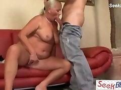Oma Anal old cutie sock fuck & Granny
