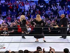 WWE Diva Trish Stratus In young russian girl 10 On WWE Smackdown Featuring Stacy Keliber