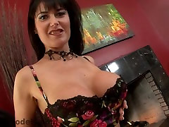 Sexy MILF Cougar Eva Karera Sucks & Swallows Huge Cock POV Blowjob