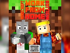 ♫ Troll Your Home ♫ - A Minecraft Parody of bro is horny From Home