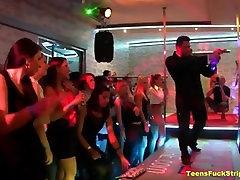 CFNM Stripper Party Turns Into Suck & Fuck Fest