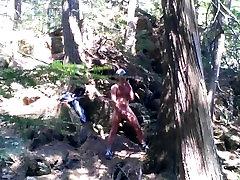 Forest voyeur jerking off 4