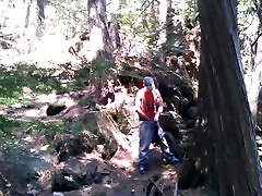 Forest voyeur jerking off 6