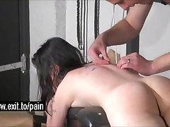 Jõhker BDSM Suukaudsete Lend ja Spanking