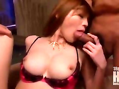 A lady sex athlete sucks two cocks and takes two creampies FULL goo.glXX