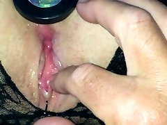 Milf Moans With Pleasure With Butt Plug and Fingers