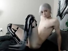 Femboy Teases and Jacks Off