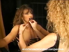 Rough mistress makes her slaves tits hurt in a mia malkova na jame deen session