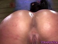 Strapon fucked les slave