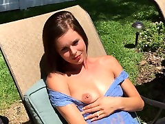 Hot Girl In Stockings Gives Blow Job & Takes It Deep