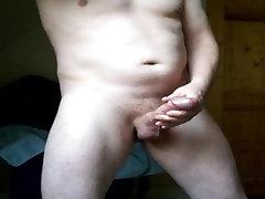Več kaplja orgazmov in cumshot po robom moj throbbing petelin