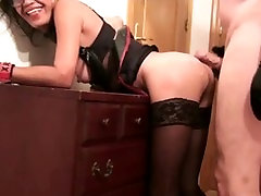 Sexy savanna samson anal dp super heroin4 Fucked from Behind by Young Stud