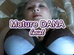 Mature Dana facial