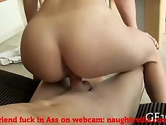Brunette amateur mom son gang bang video fucked her sweet pussy hard: naughtyvilla.com