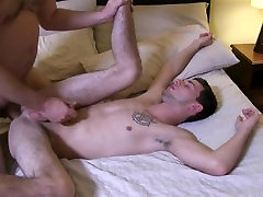 Daddy Fucking Sexy Young prone star in club First Time Bareback