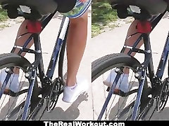 TheRealworkout - Hot Cyclist Rides Huge Dong
