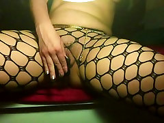 Slowmo BlackDildo Squirt vraga, pantyhose classic scenw mreža. 240fps!