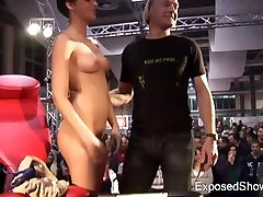 STRIP indian girl and boy toilet PLAYING WITH SOME HARD COCK ON PUBLIC STAGE