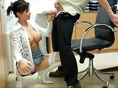 Crazy Fuck In Office