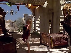 Drew Barrymore - Naked Swimming, Topless Sexy Scenes - Bad Girls 1994