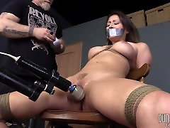 Chairtied, Gagged and Vibed