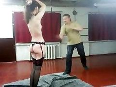 Angela cruel flogged with my whip