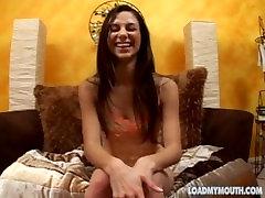 कास्टिंग वीडियो के 19 वर्षीय जैकी ऐश - मेरे मुँह को लोड