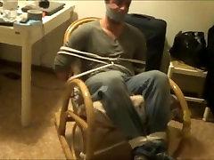 Femdom-Man Tied Up And Gagged By kiwi aboydyda 2