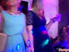 Euro amateur cocksucking at hot paha pegawai bank party