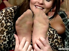 Isabell Tickled In Nylons Only Nylon Tickling