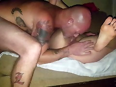 Juicy gets her magic stick 2. Ends in ass and pussy cream pie