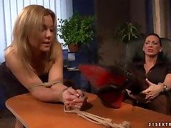 The most dominant teax pati mistress breaks weak bitches