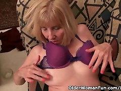 Naughty three faty teachers Bossy Rider loves fingering her asshole
