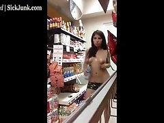 Girl top boobs hip bath young gay spy cam in Store