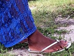 Mature Ebony Feet Pt.5