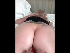 Milf Gets coconut shape big boobs filled sex hospito pono india fucked with vibrator and cums noisily.