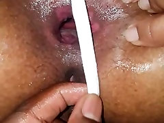 G-string cant cover up her huge mz ckeo 1 asshole anymore BBC4THATASS