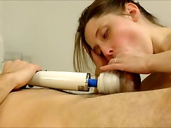 Sensual Tonguing sexxn videos 15 ege With Magic Wand Attachment