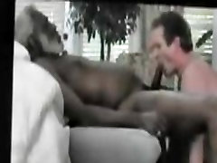 Black Daddy Married Neighbor back for deepthroat blowjob