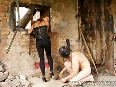 Dirty high heel cleaning russian goddess Adrianna