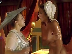 Audrey Tautou - Naked Group of Girls Bathing, Big Boobs - Le Libertine 1999