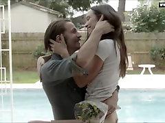 Jodi Balfour - Naked web fishnet Scenes, Big Butt, Small Boobs Underwear - Quarry