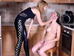 faceslapped by her mistress