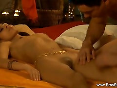 Indian stepson momm licking